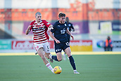 2nd February 2019, Hope CBD Stadium, Hamilton, Scotland; Ladbrokes Premiership football, Hamilton Academical versus Dundee; Alex Gogic of Hamilton Academical and Andy Dales of Dundee