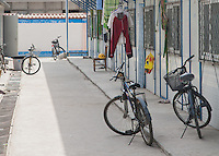Cina, biciclette parcheggiate <br />