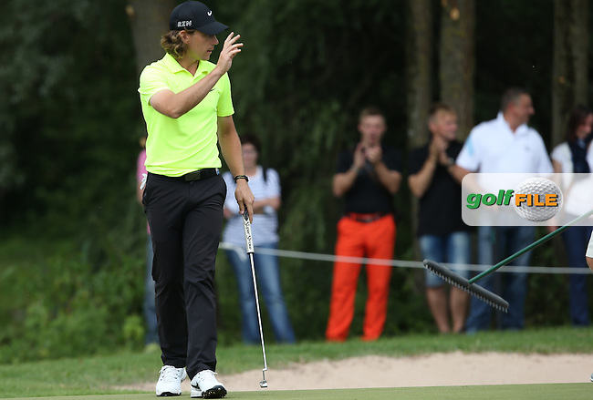 Tommy Fleetwood (ENG) carded a 69 during Round Three of the 2015 BMW International Open at Golfclub Munchen Eichenried, Eichenried, Munich, Germany. 27/06/2015. Picture David Lloyd | www.golffile.ie