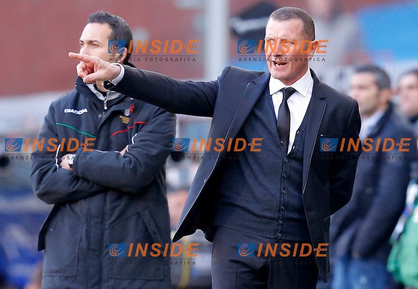 "Aurelio Andreazzoli Roma, Genova 10/2/2013 .Stadio ""L.Ferraris"".Football Calcio 2012/2013 Serie A.Sampdoria Vs Roma.Foto Marco Bertorello Insidefoto"