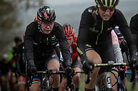 Anna van der Breggen (NED/Boels Dolmans) in the peloton. <br /> <br /> 3th Liège-Bastogne-Liège-Femmes 2019 (1.WWT)<br /> 1 Day Race: Bastogne – Liège 138,5km<br /> <br /> ©kramon
