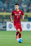 Shanghai FC Forward Wu Lei in action during the AFC Champions League 2017 Round of 16 match between Jiangsu FC (CHN) vs Shanghai SIPG FC (CHN) at the Nanjing Olympic Stadium on 31 May 2017 in Nanjing, China. Photo by Marcio Rodrigo Machado / Power Sport Images