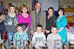 Annuscaul/Camp/Inch members at the Kerry Community Games annual awards ceremony in the River Island Hotel on Friday front row l-r: Barry Murphy, Ciaran Healy, Sean Galvin. Back row: Shay Healy, Mary O'Shea, John Kennedy, Kathleen Harnett and Bride Kennedy..