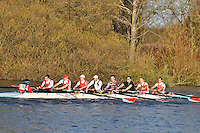 178 .WRC-Holley .IM3.8+ .Wallingford RC . Wallingford Head of the River. Sunday 27 November 2011. 4250 metres upstream on the Thames from Moulsford railway bridge to Oxford University's Fleming Boathouse in Wallingford. Event run by Wallingford Rowing Club.