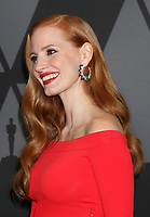 HOLLYWOOD, CA - NOVEMBER 11: Jessica Chastain at the AMPAS 9th Annual Governors Awards at the Dolby Ballroom in Hollywood, California on November 11, 2017. <br /> CAP/MPI/DE<br /> &copy;DE/MPI/Capital Pictures