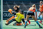 AMSTELVEEN  -  Jantien Gunter (Gro)    Hoofdklasse hockey dames ,competitie, dames, Amsterdam-Groningen (9-0) .     COPYRIGHT KOEN SUYK
