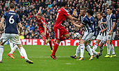 30th September 2017, The Hawthorns, West Bromwich, England; EPL Premier League football, West Bromwich Albion versus Watford; Richarlison of Watford gets a shot on goal