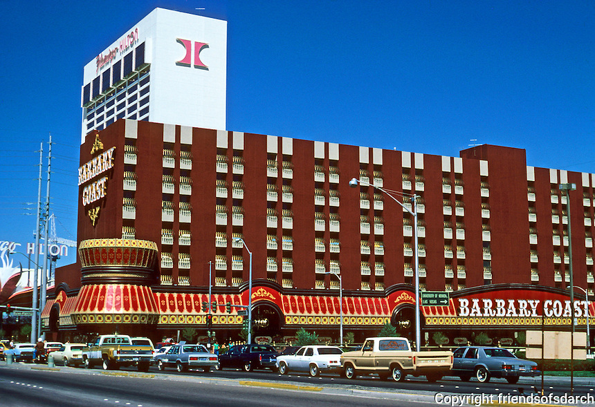 Las Vegas: Barbary Coast--opposite Caesar's Palace. Photo '79.