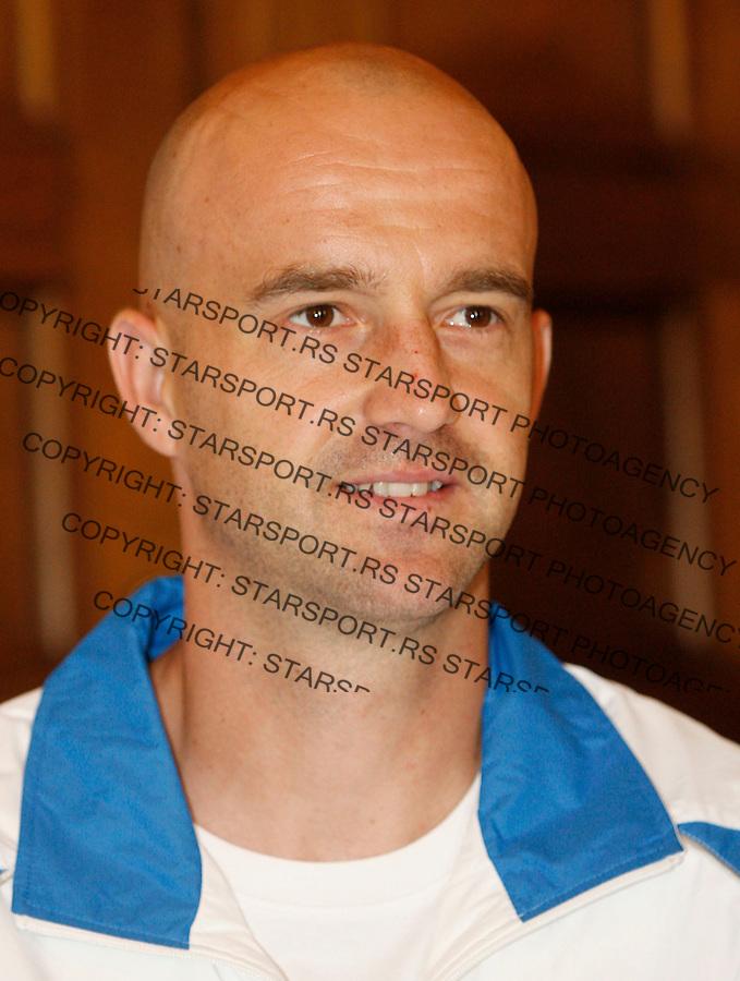 Tenis, Davis Cup 2010.Croatia Vs. Serbia, quaterfinals.Davis Cup, official draw, Ivan Ljubicic.Split, 08.07.2010..foto: Srdjan Stevanovic/Starsportphoto ©