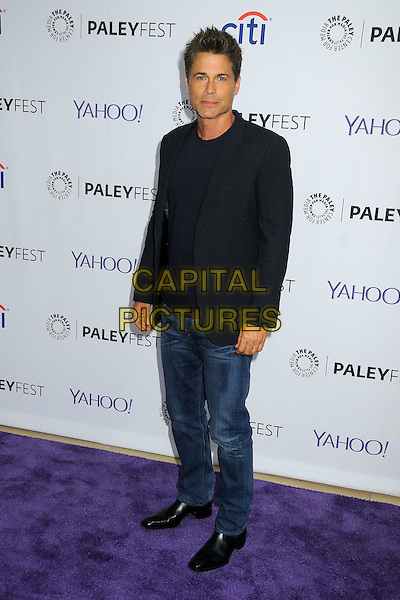 15 September 2015 - Beverly Hills, California - Rob Lowe. 2015 PaleyFest Fall TV Preview - &quot;The Grinder&quot; held at The Paley Center. <br /> CAP/ADM/BP<br /> &copy;BP/ADM/Capital Pictures