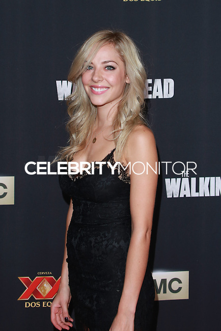 UNIVERSAL CITY, CA, USA - OCTOBER 02: MacKenzie Porter arrives at the Los Angeles Premiere Of AMC's 'The Walking Dead' Season 5 held at AMC Universal City Walk on October 2, 2014 in Universal City, California, United States. (Photo by David Acosta/Celebrity Monitor)