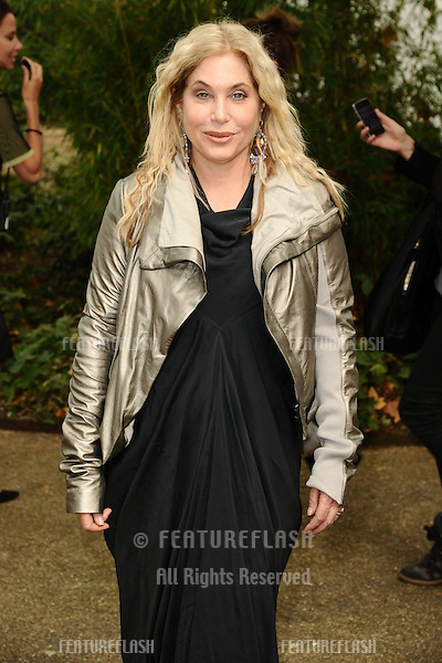 Brix Smith arriving at the Unique catwalk show as part of London Fashion Week SS13, Top Shop Venue, Bedford Square, London. 16/09/2012 Picture by: Steve Vas / Featureflash
