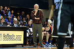 03 February 2013: Duke assistant coach Al Brown. The University of North Carolina Tar Heels played the Duke University Blue Devils at Carmichael Arena in Chapel Hill, North Carolina in an NCAA Division I Women's Basketball game. Duke won the game 84-63.