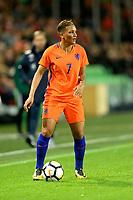 GRONINGEN -  Voetbal, Nederland - Noorwegen, Noordlease stadion, WK kwalificatie vrouwen, 24-10-2017,    Nederland speelster Shanice van de Sanden