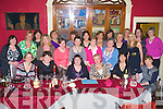 Mary O'Sullivan Third from left and Helen Flaherty fourth from left who retired from Emily ward of Kerry General celebrated with colleagues in Finnegans Restaurant, Tralee on Saturday Night.