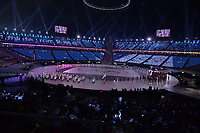 OLYMPIC GAMES: PYEONGCHANG: 09-02-2018, PyeongChang Olympic Stadium, Olympic Games, Opening Ceremony, Team Olympic Athlete from Russia (OAR), ©photo Martin de Jong