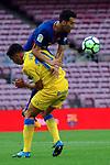League Santander 2017/2018 - Game: 7.<br /> FC Barcelona vs UD Las Palmas: 3-0.<br /> Hernan vs Sergio Busquets.