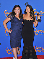 Gina Rodriguez at the 72nd Annual Golden Globe Awards at the Beverly Hilton Hotel, Beverly Hills.<br /> January 11, 2015  Beverly Hills, CA<br /> Picture: Paul Smith / Featureflash