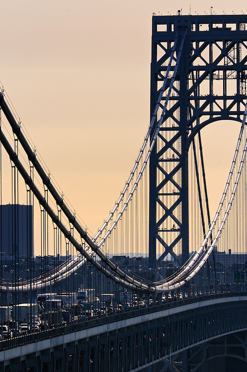 George Washington Bridge AM rush