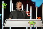63 Premios Ondas.<br /> Gala de Entrega de los premios.<br /> Javier Olivares.