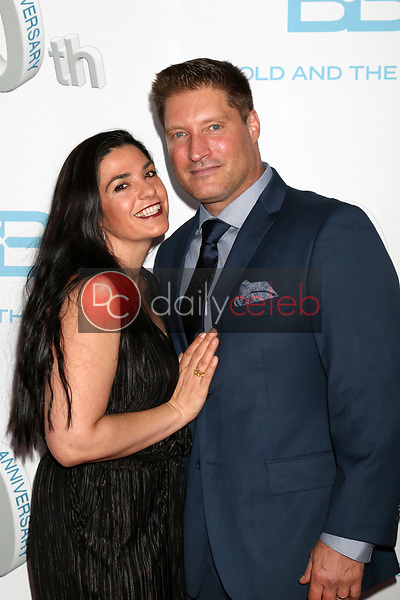 "wife, Sean Kanan<br /> at the ""The Bold and The Beautiful"" 30th Anniversary Party, Clifton's Downtown, Los Angeles, CA 03-18-17<br /> David Edwards/DailyCeleb.com 818-249-4998"