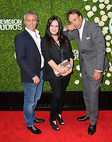 Matt LeBlanc, Liza Snyder &amp; Kevin Nealon at CBS TV's Summer Soiree at CBS TV Studios, Studio City, CA, USA 01 Aug. 2017<br /> Picture: Paul Smith/Featureflash/SilverHub 0208 004 5359 sales@silverhubmedia.com