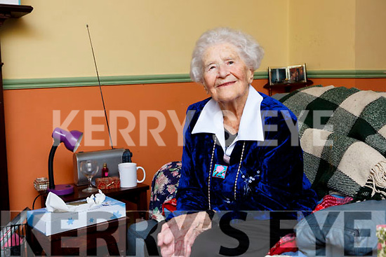 Hannah O'Shea, York Terrace, Killarney celebrated her 102nd birthday with her family and friends at her home on Saturday
