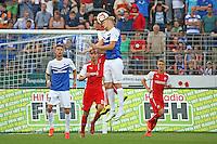 Kopfball Hanno Behrens (SV 98) - SV Darmstadt 98 vs. SV Sandhausen, Stadion am Boellenfalltor