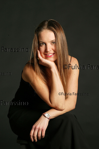Milano, 16 october 2003. Enrica Roddolo