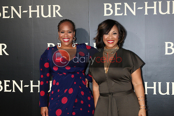 Mary Mary, Trecina Atkins-Campbell, Erica Atkins-Campbell<br /> at the &quot;Ben-Hur&quot; Premiere, TCL Chinese Theater IMAX. Hollywood, CA 08-16-16<br /> David Edwards/DailyCeleb.com 818-249-4998
