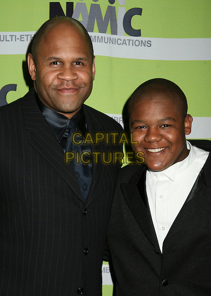 18 April 2006 - Beverly Hills, California - Rondell Sheridan and Kyle Massey. 12th Annual NAMIC Vision Awards. Photo Credit: Byron Purvis/AdMedia