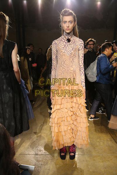 DRIES VAN NOTEN <br /> Paris Fashion Week, Ready to Wear,Spring Summer 2016, Paris, France September 30, 2015.<br /> CAP/GOL<br /> &copy;GOL/Capital Pictures