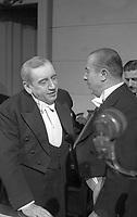 21/05/1949. Arturo Alessandri Palma (Presidente del Senado) y Gabriel González Videla (Presidente de la República)