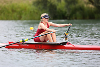Race: 133  W.J14.1x  Final<br /> <br /> Peterborough Summer Regatta 2018 - Sunday<br /> <br /> To purchase this photo, or to see pricing information for Prints and Downloads, click the blue 'Add to Cart' button at the top-right of the page.