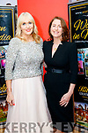 Miriam O'Callaghan and Katie Hannon at the Women in Media event, in Ballybunion on Saturday.