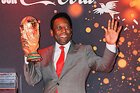 Edson Arantes do Nascimento, dit Pelé <br /> Parigi 10-03-2014 <br /> FIFA World Cup Trophy Tour <br /> Foto Panoramic / Insidefoto