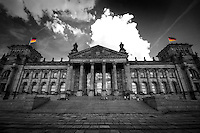 Middle of Berlin, in the middle of summer, 2012<br /> Reichstag