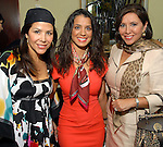 Ericka Bagwell, Rachel Brown and Debbie Festari at the Latin Women's Initiative luncheon at the InterContinental Houston Friday May 08,2009.(Dave Rossman/For the Chronicle)