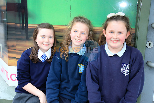 Sophie Murray, Eva Gean Quinn and Aoife McCormack at the Upstate Theatre Project in Narrow west street  part of the Drogheda Arts Festival.<br /> Picture: www.newsfile.ie