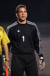 NC State goalkeeper Jorge Gonzalez, of Guatemala, on Friday, October 21st, 2005 at Koskinen Stadium in Durham, North Carolina. The Duke University Blue Devils defeated the North Carolina State University Wolfpack 6-0 during an NCAA Division I Men's Soccer game.