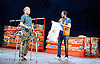 Ugly Lies The Bone <br /> by Lindsey Ferrentino<br /> at The Lyttelton Theatre, London, Great Britain <br /> Press photocall <br /> 28th February 2017 <br /> <br /> <br /> Kate Fleetwood as Jess<br /> <br /> Ralf Little as Stevie <br /> <br /> <br /> <br /> <br /> Photograph by Elliott Franks <br /> Image licensed to Elliott Franks Photography Services