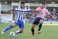 fecha: 1-8-2012 Lugo Estadio Angel Carro .  Lugo-Deportivo da Coruña