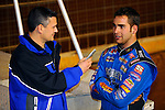 Nov 06, 2009; 12:51:12 AM; Concord, NC, USA; The Topless Showdown presented by Hungry-Man features the cars and stars of the World of Outlaws Late Model Series competing at The Dirt Track @ Lowe's Motor Speedway.  Mandatory Credit: (thesportswire.net)