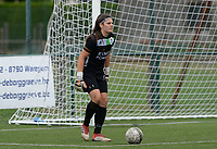 20180815 - Zulte , BELGIUM : OHL's Louise Van Den Bergh pictured during a friendly pre season soccer match between the women teams of Zulte Waregem Dames and OHL Oud Heverlee Leuven Dames  , Wednesday 15 August 2018 . PHOTO DAVID CATRY   SPORTPIX.BE