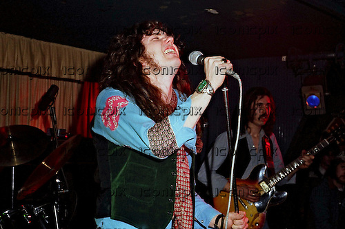 Whitesnake - vocalist David Coverdale performing live at the bands third concert at the Club Lafayette in Wolverhampton UK - 05 Mar 1978.  Photo credit: Alan Perry/IconicPix