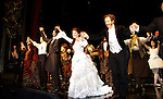 Opening Night with Norm Lewis (All My Children) and Sierra Boggess and cast who are starring in Phantom of the Opera as the first black Phantom starting on May 12 on Broadway at the Majestic Theatre, New York City, New York  (Photo by Sue Coflin/Max Photos)