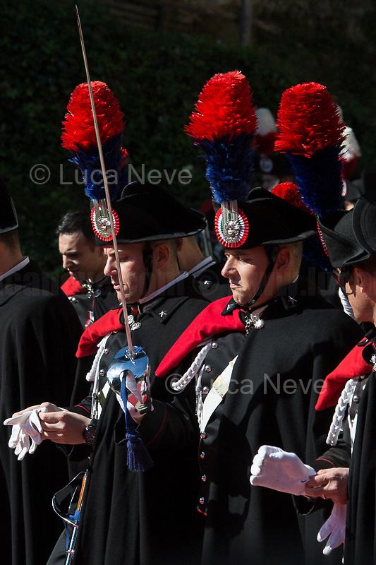 Unknown, Carabinieri Officers.