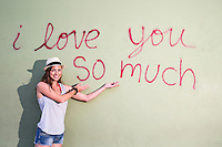 """I love you so much"" mural is an iconic part of South Congress (Soco) culture."