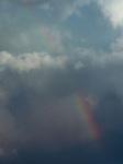 Storm photos, Chicago, rainbow (DePaul University/Jamie Moncrief)