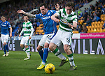St Johnstone v Celtic&hellip;.McDiarmid Park, Perth.. 11.05.16<br />Anthony Ralston and Danny Swanson<br />Picture by Graeme Hart.<br />Copyright Perthshire Picture Agency<br />Tel: 01738 623350  Mobile: 07990 594431